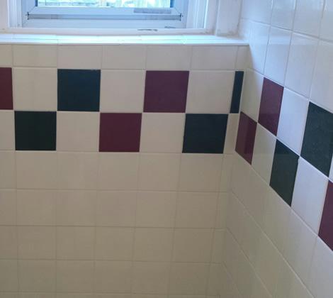 Shower Wall Retile