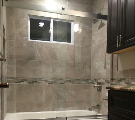 Tags: bathroom, Retile, Shower, tile, Wall